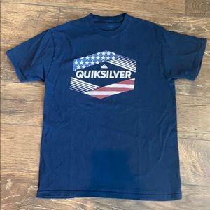 Quicksilver American Flag T-Shirt